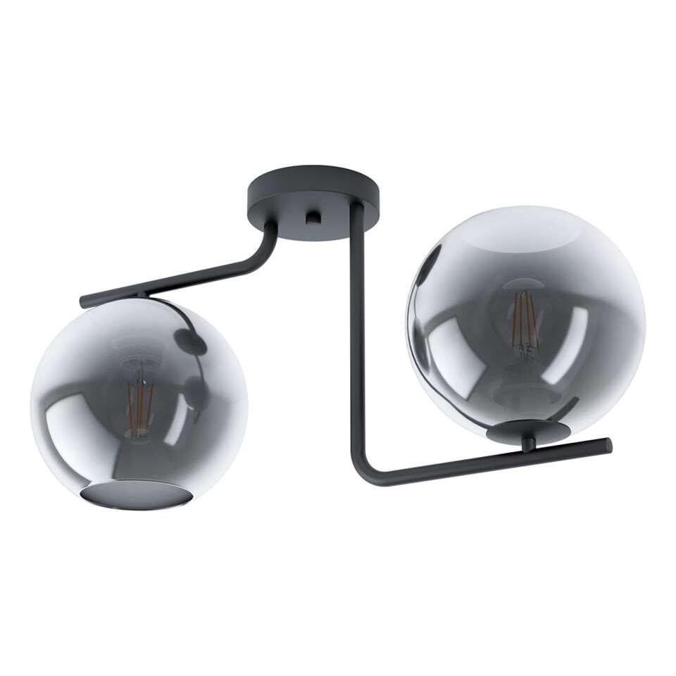 EGLO plafondlamp 2-lichts Marojales - zwart