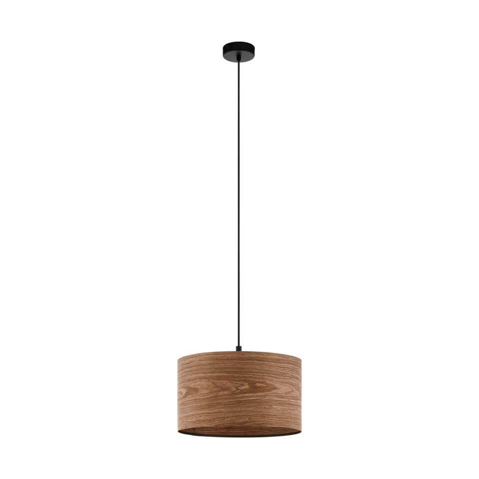 EGLO hanglamp Cannafesca - bruin/zwart