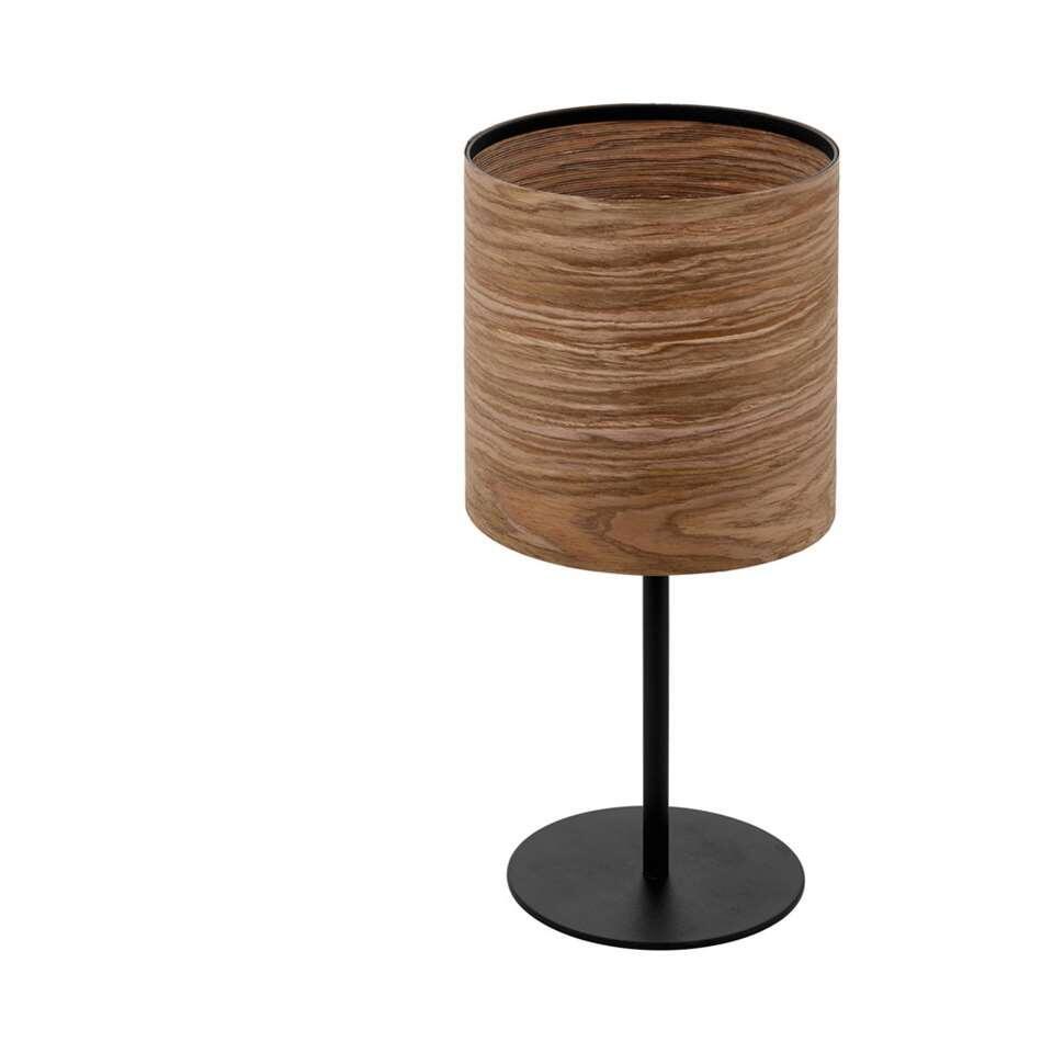 EGLO tafellamp Cannafesca - bruin/zwart