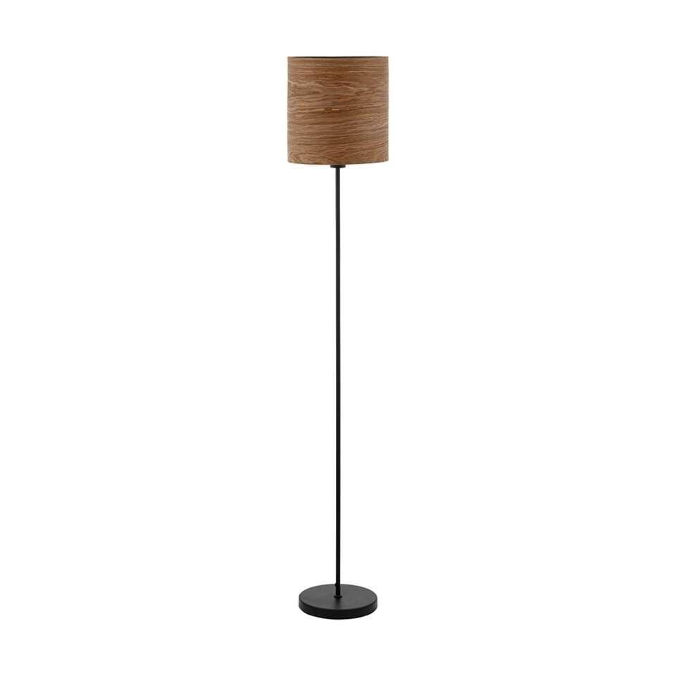 EGLO vloerlamp Cannafesca - bruin/zwart