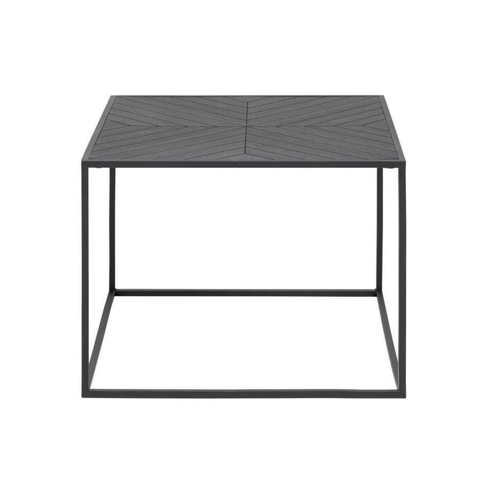 Salontafel Torva - zwart - 45x60x60 cm