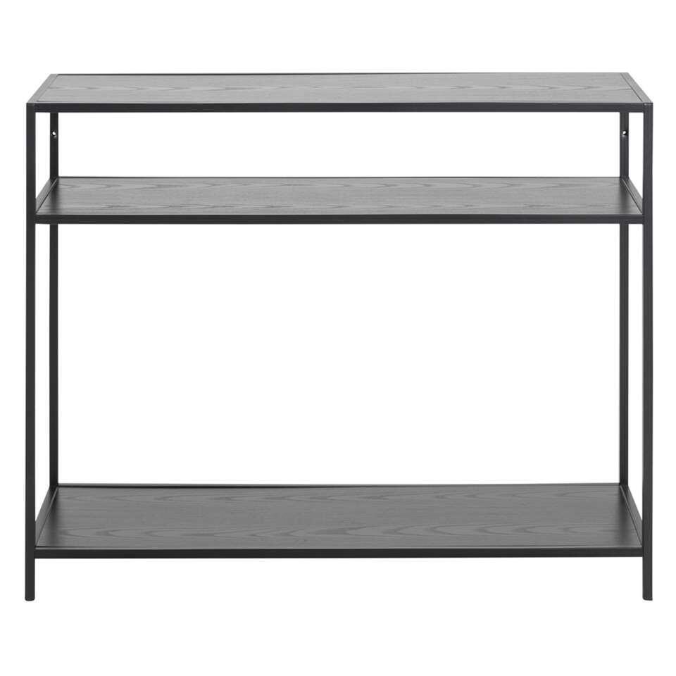 Wandtafel Jaxx - zwart - 79x100x35 cm