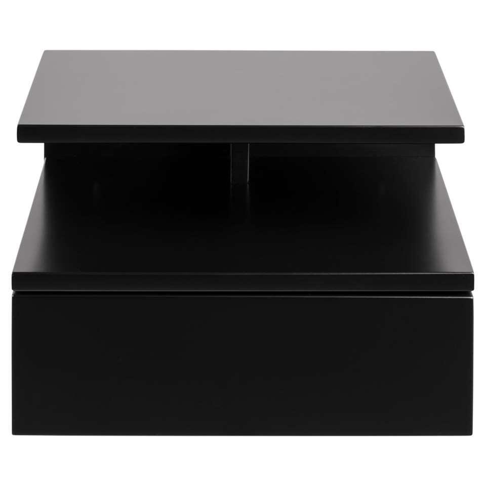 Nachtkastje Granbo - 1 lade - zwart
