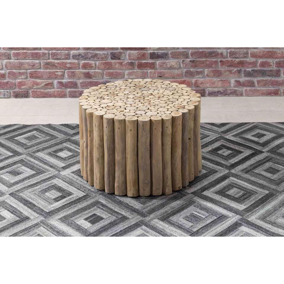 Salontafel Ortiga - naturel - 40x60 cm