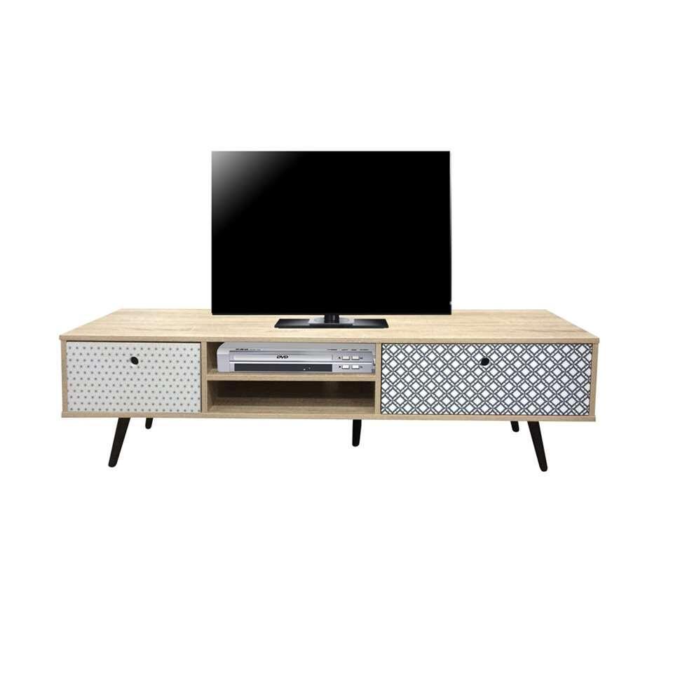 TV-meubel Azoia - whitewash - 40x150x39 cm