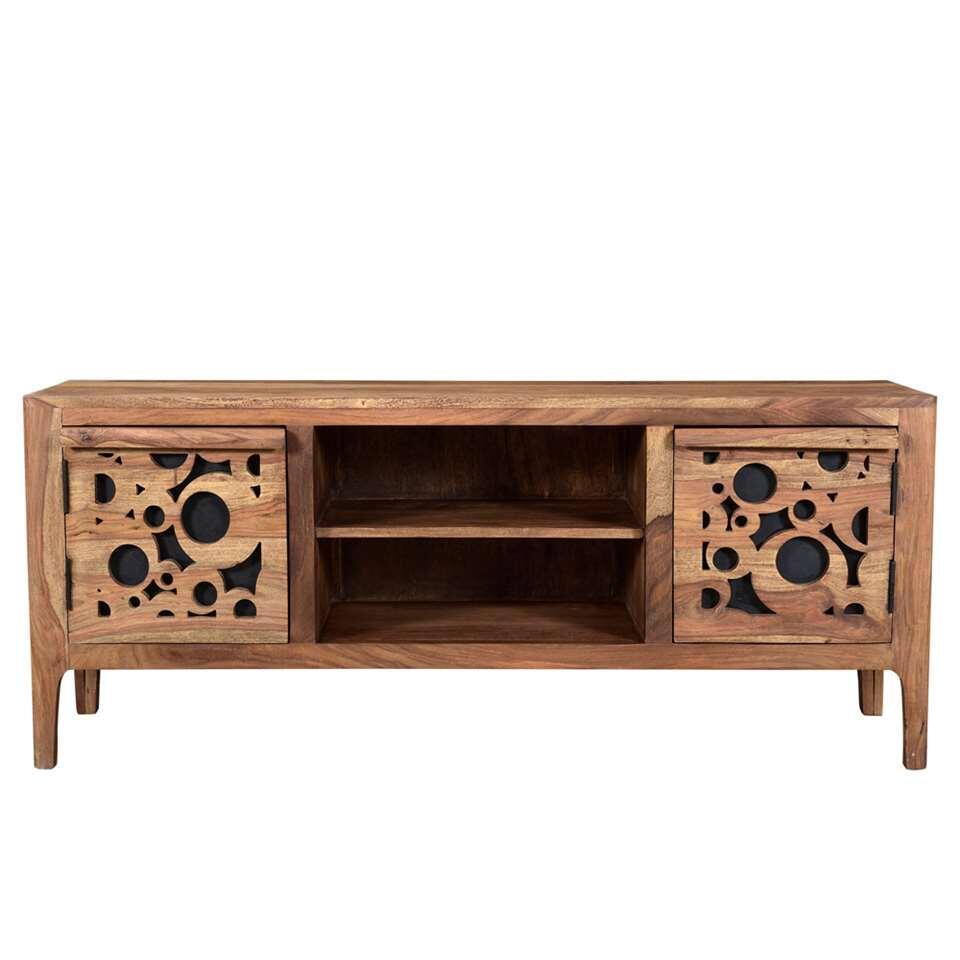 TV-meubel Bielle - naturel - 55x120x40 cm