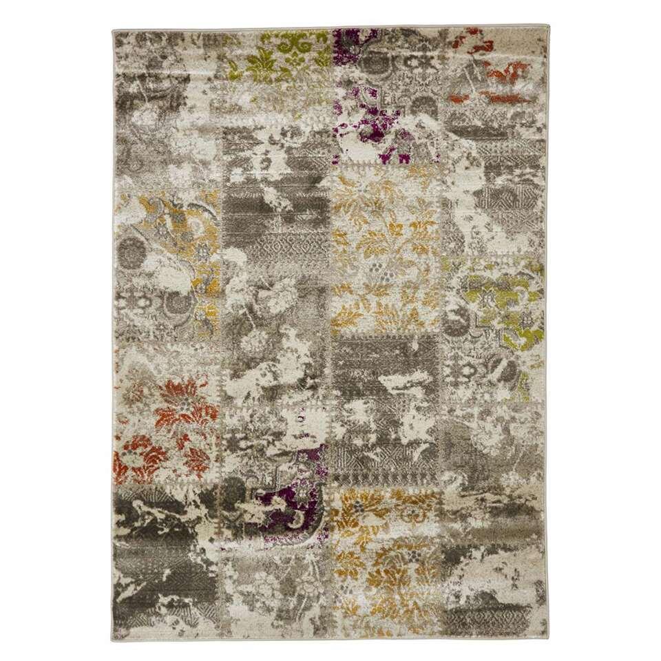 Floorita vloerkleed Patchwork - multikleur - 140x200 cm - Leen Bakker