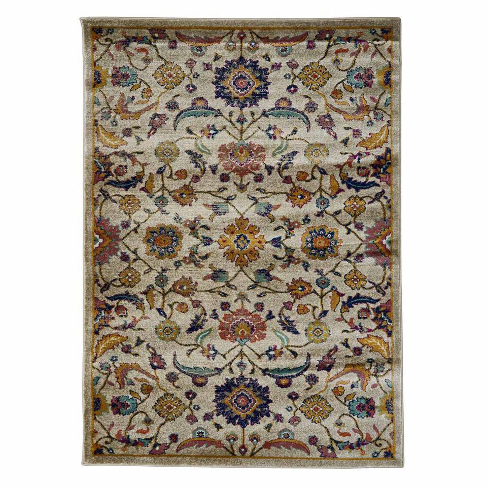 Floorita vloerkleed Moss - lichtgrijs - 180x270 cm - Leen Bakker