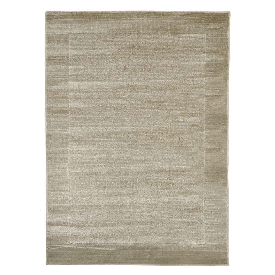 Floorita vloerkleed Sienna - grijs - 140x200 cm - Leen Bakker