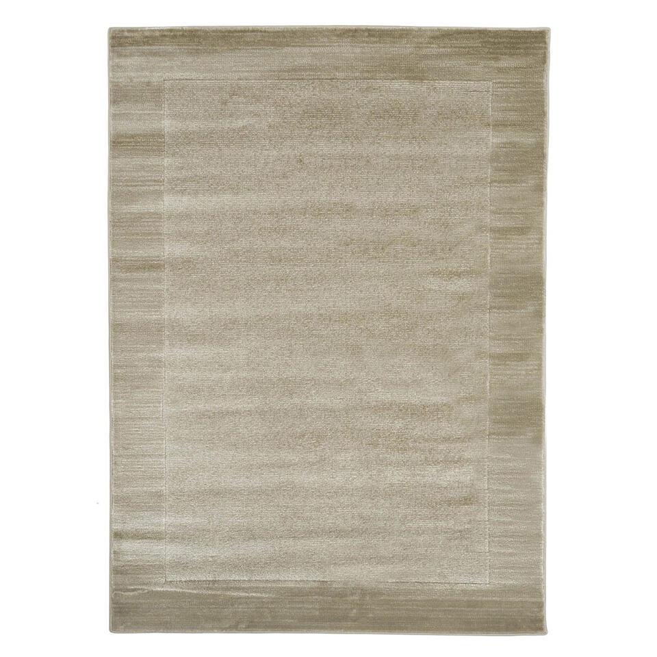 Floorita vloerkleed Sienna - grijs - 180x270 cm - Leen Bakker