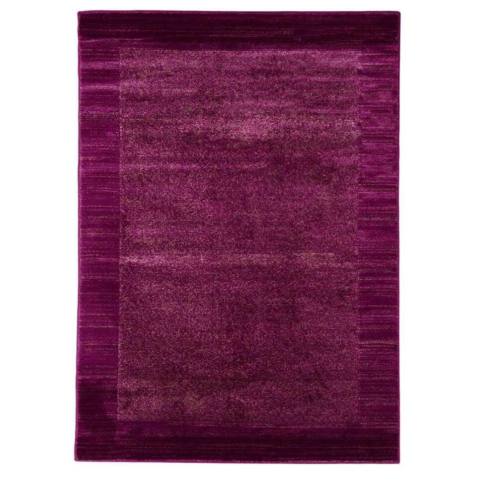 Floorita vloerkleed Sienna - violet - 120x160 cm - Leen Bakker