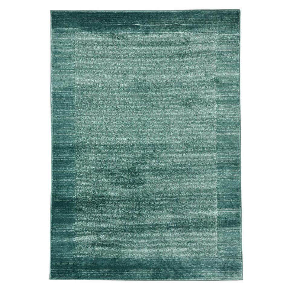 Floorita vloerkleed Sienna - aqua - 180x270 cm - Leen Bakker