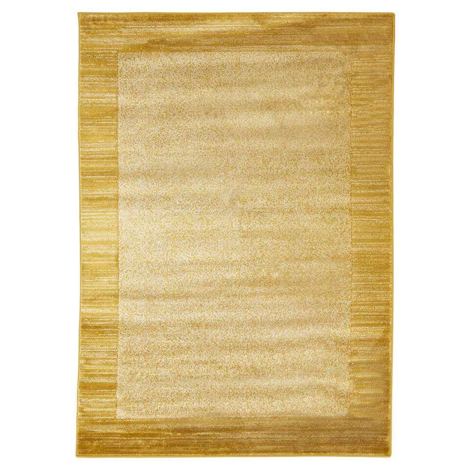 Floorita vloerkleed Sienna - geel - 140x200 cm - Leen Bakker