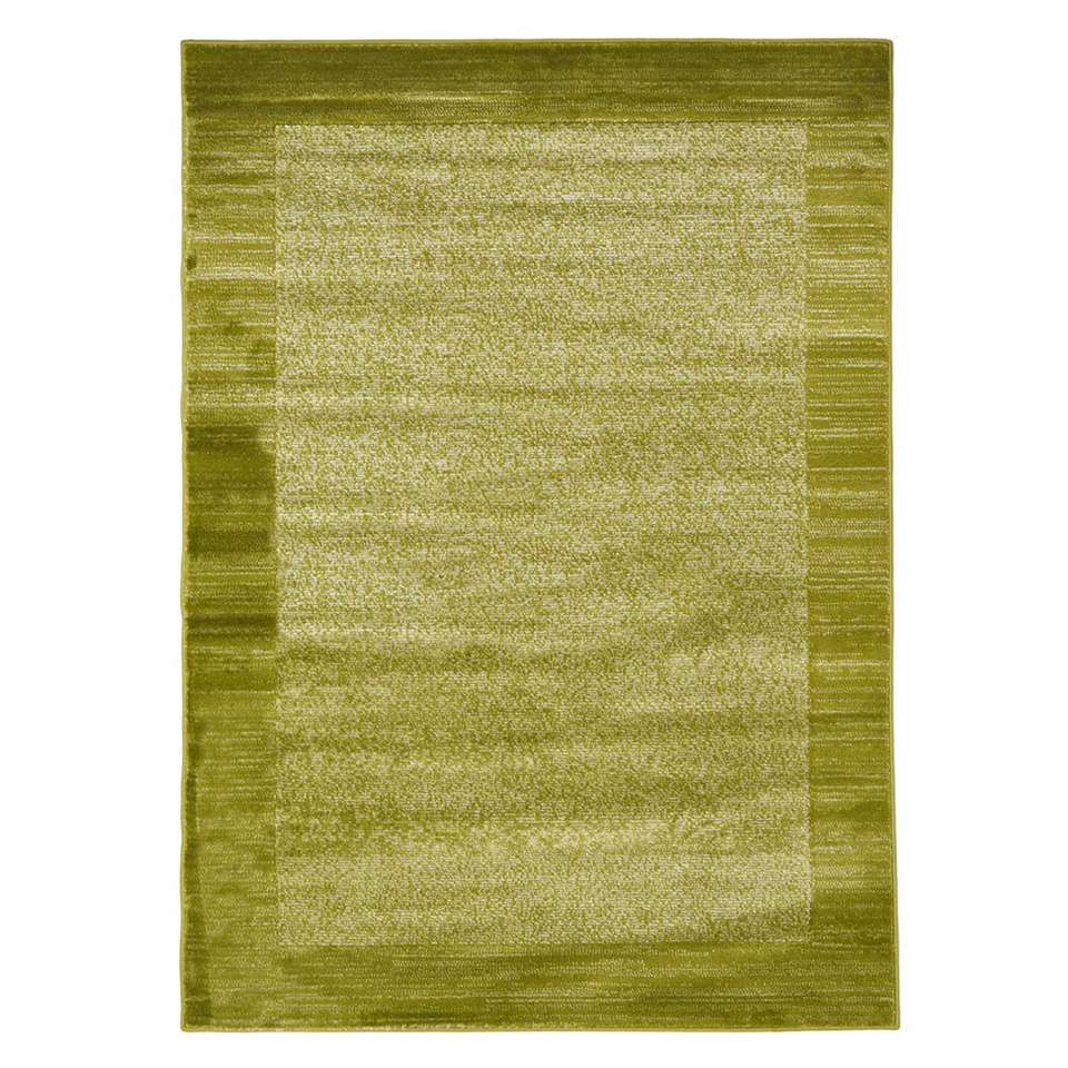 Floorita vloerkleed Sienna - groen - 180x270 cm - Leen Bakker