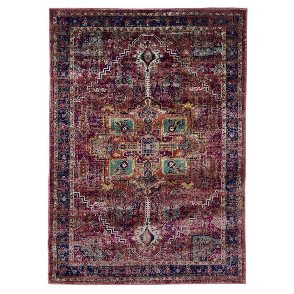 Floorita vloerkleed Ashley - violet - 140x200 cm - Leen Bakker