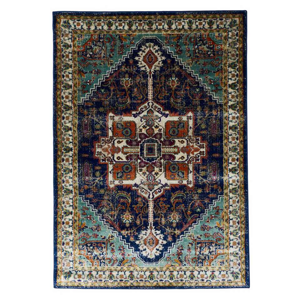 Floorita vloerkleed Ashley - blauw - 180x270 cm - Leen Bakker