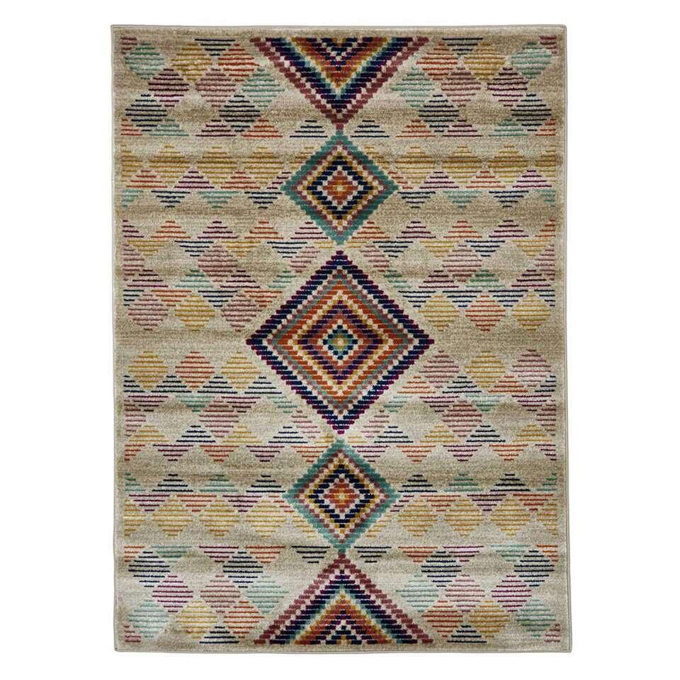 Floorita vloerkleed Kilim - multikleur - 180x270 cm - Leen Bakker