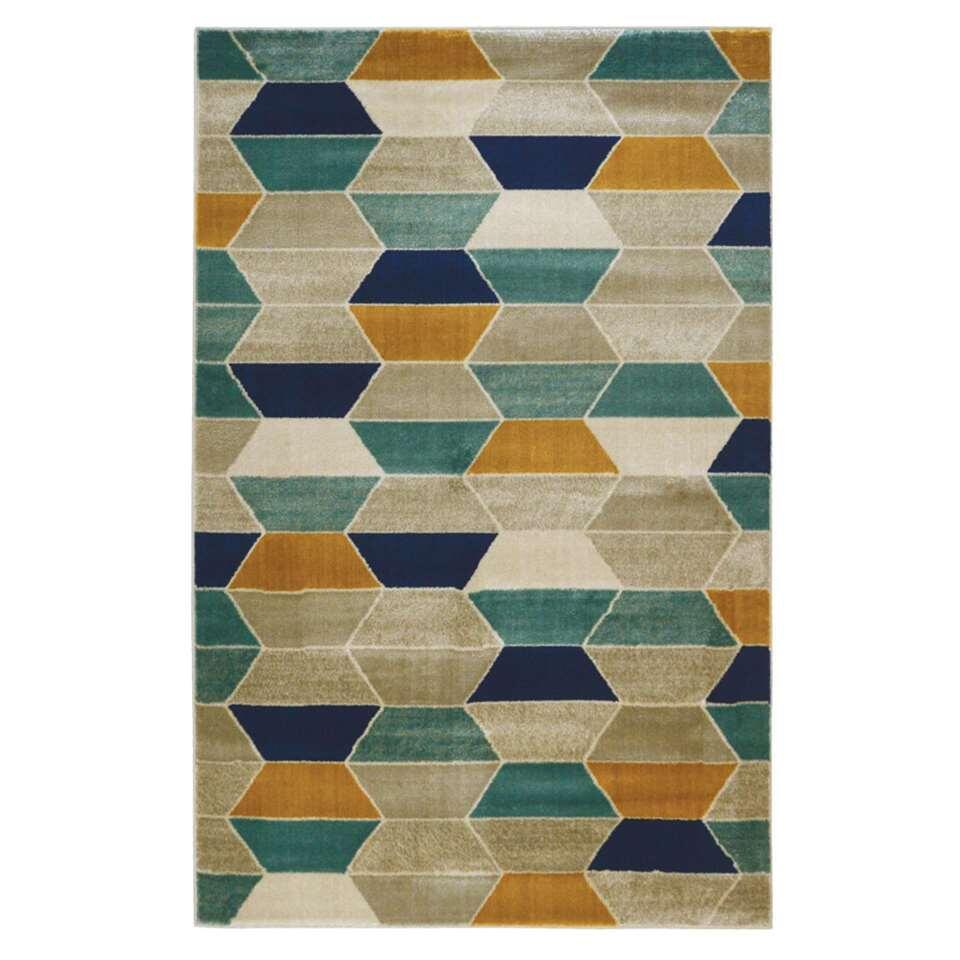 Floorita vloerkleed Bunba - multikleur - 140x200 cm - Leen Bakker