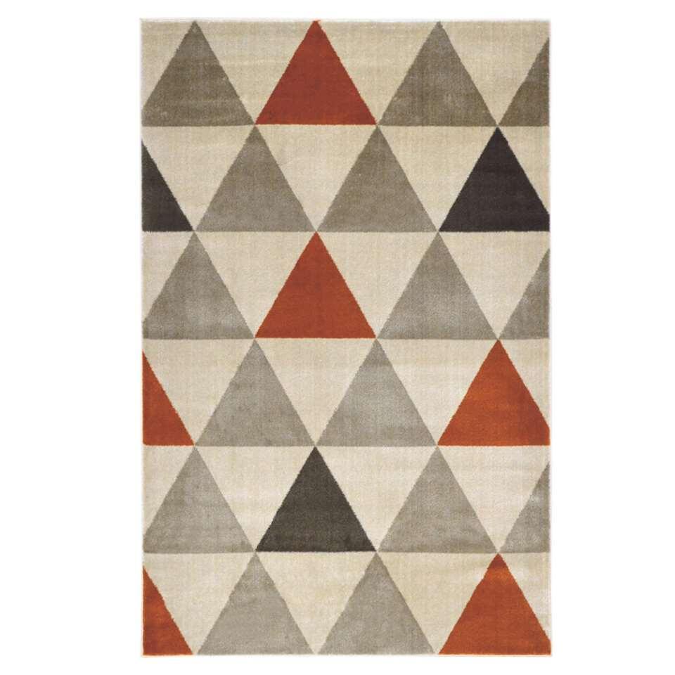 Floorita vloerkleed Roma - oranje - 140x200 cm - Leen Bakker