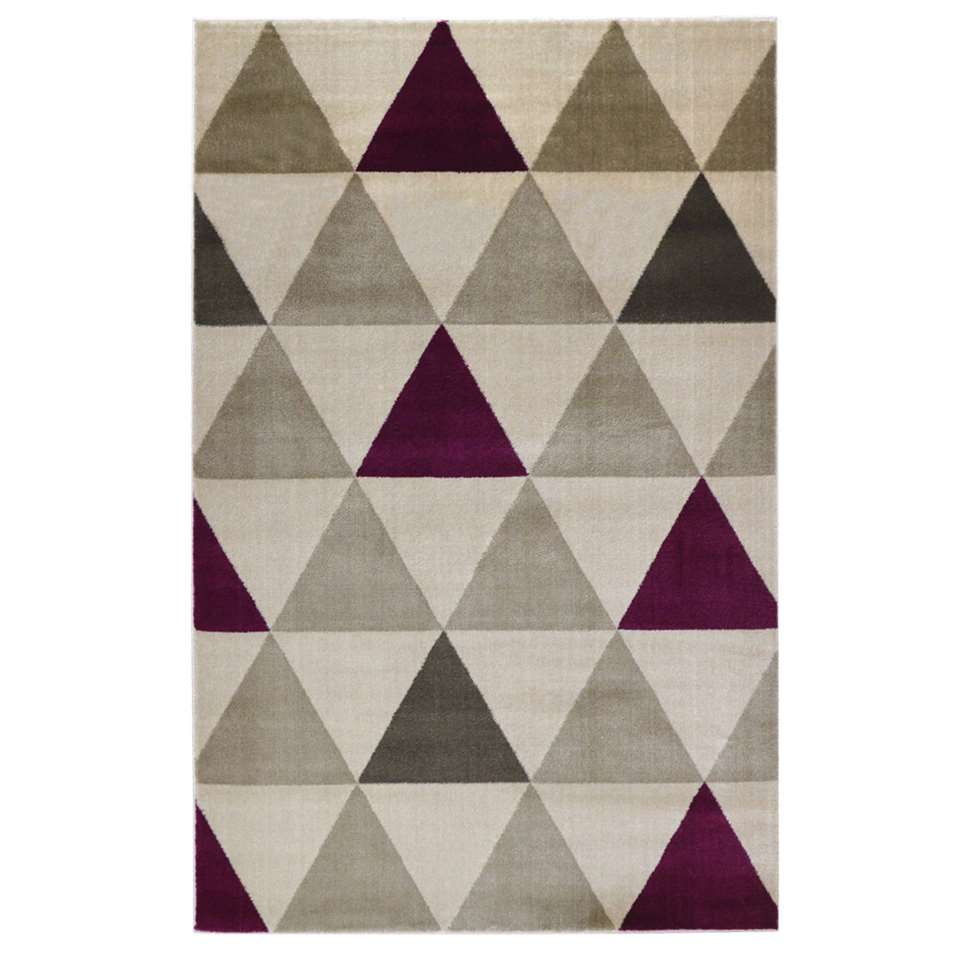 Floorita vloerkleed Roma - violet - 140x200 cm