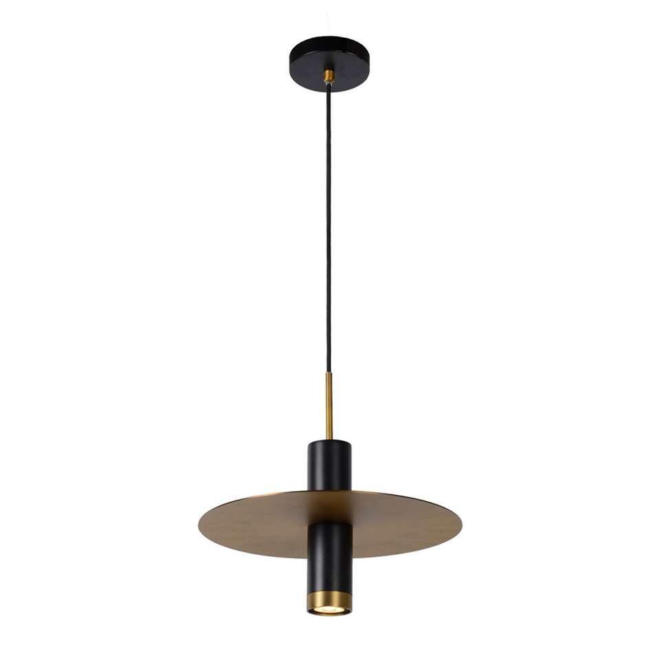 Lucide hanglamp Selin - zwart/geelkoper - 145x25 cm