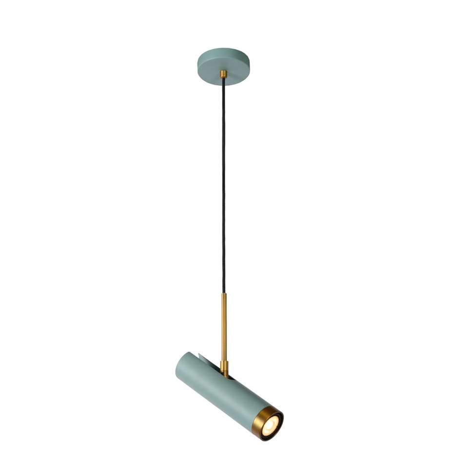 Lucide hanglamp Selin - turquoise - 155x10 cm