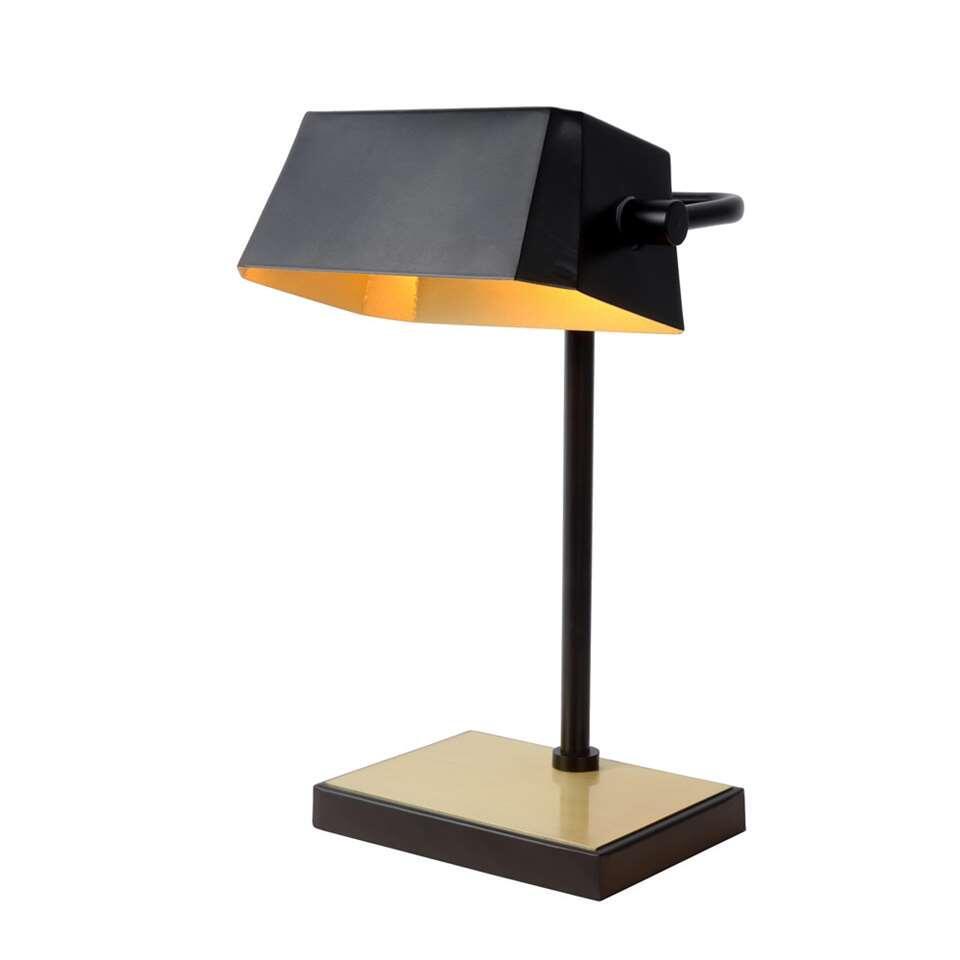 Lucide bureaulamp Lance - zwart