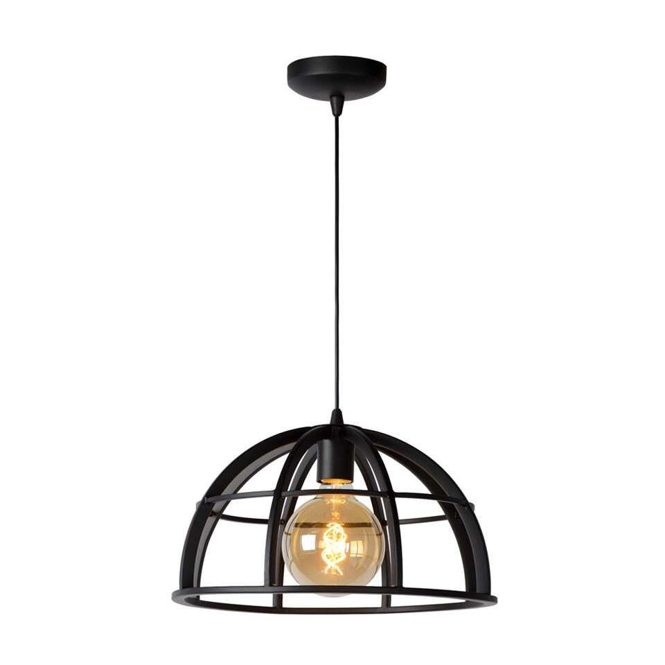Lucide hanglamp Dikra - zwart - 40 cm
