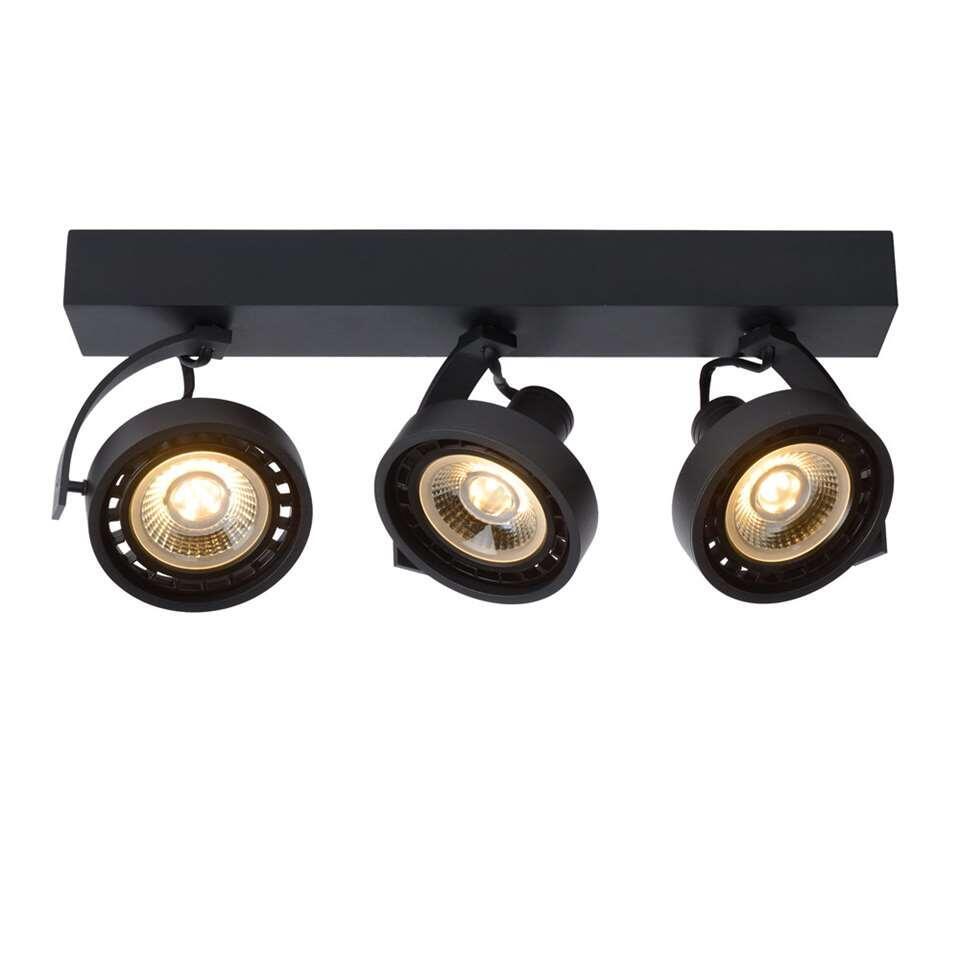 Lucide plafondspot Dorian 3 lamp - zwart