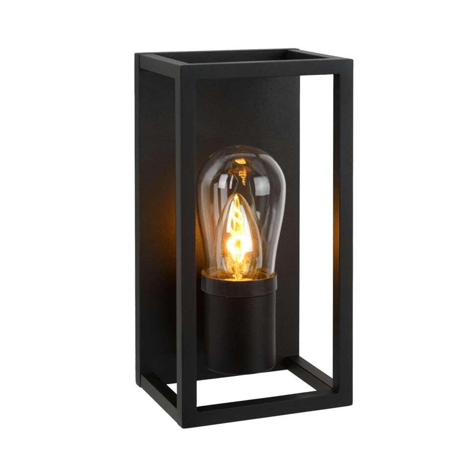 Lucide wandlamp Carlyn - zwart