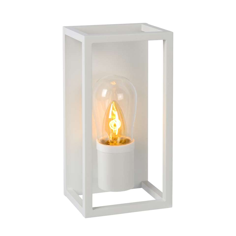 Lucide wandlamp Carlyn - wit