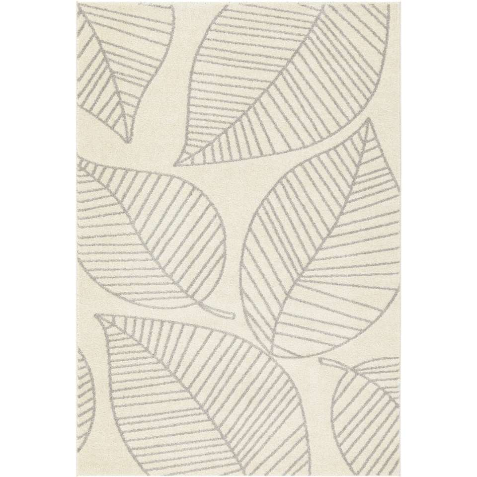 Vloerkleed Ivrea - grijs - 120x170 cm