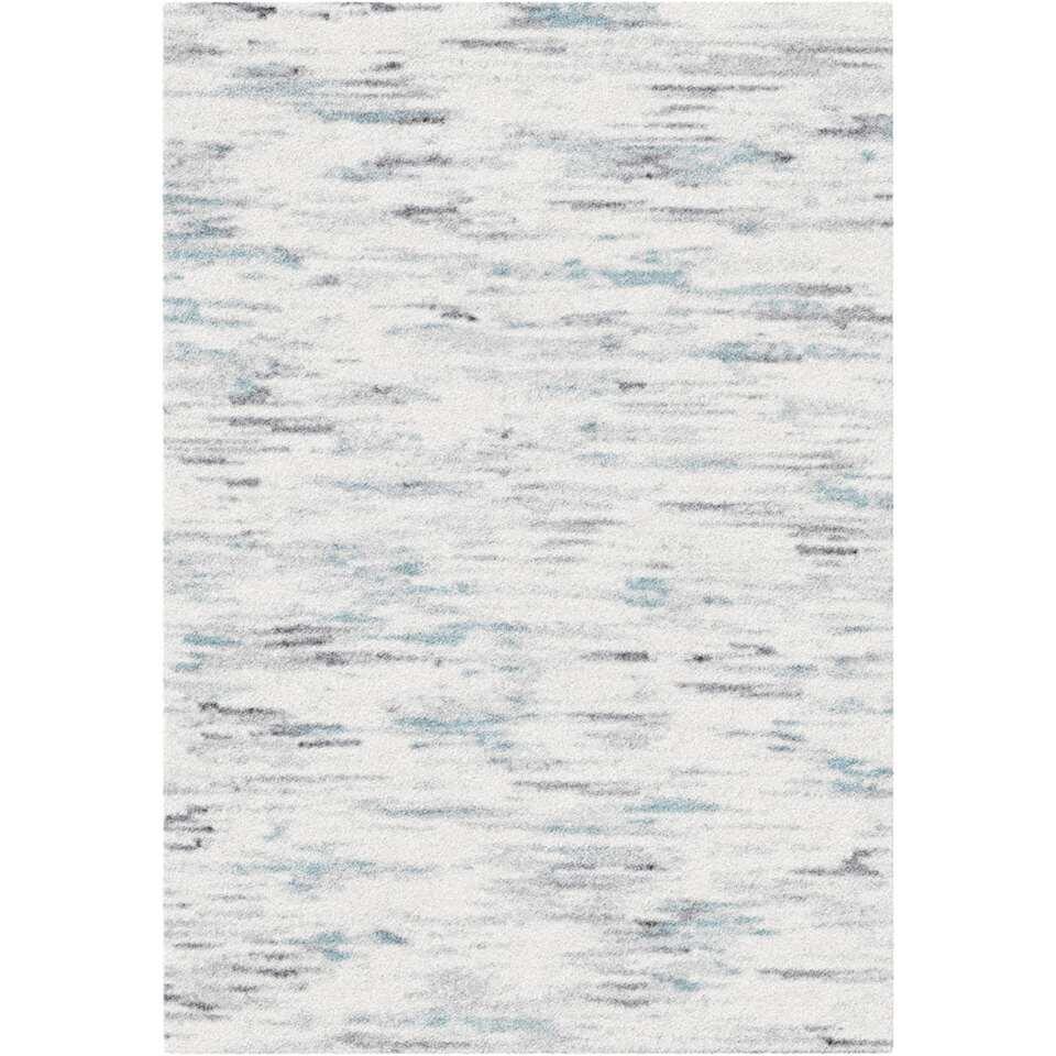 Vloerkleed Tarente - grijs/blauw - 200x290 cm