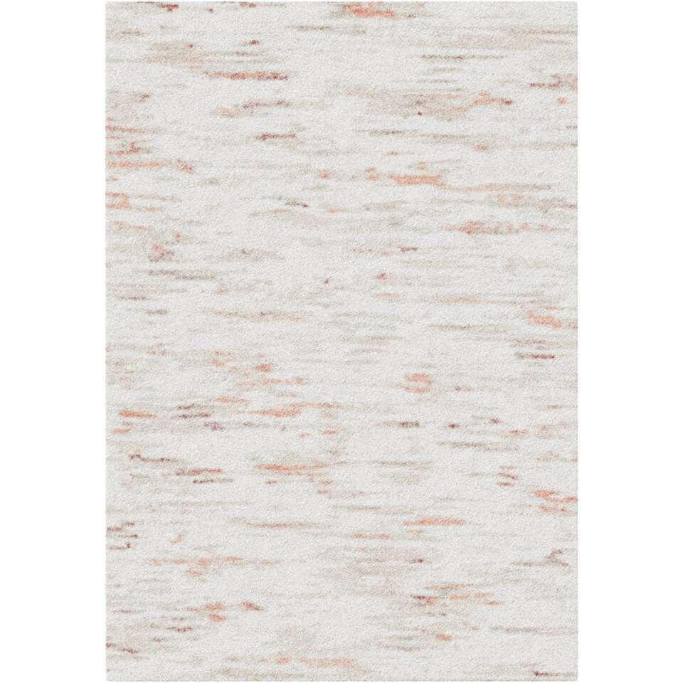 Vloerkleed Tarente - grijs/oranje - 200x290 cm