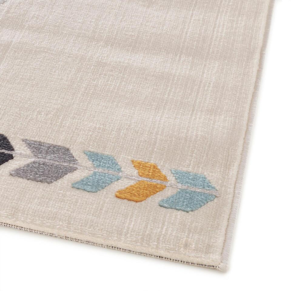 Vloerkleed Pinguiaan – crème – 120×170 cm – Leen Bakker