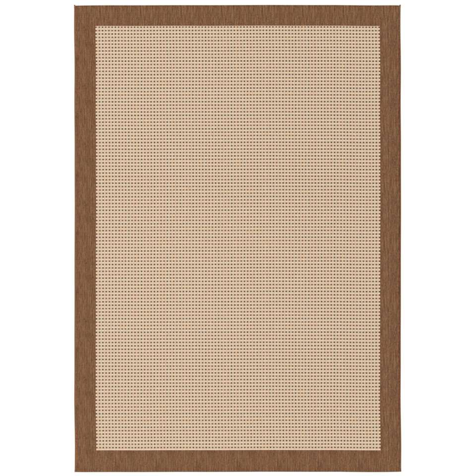 Vloerkleed Will - bruin - 120x170 cm
