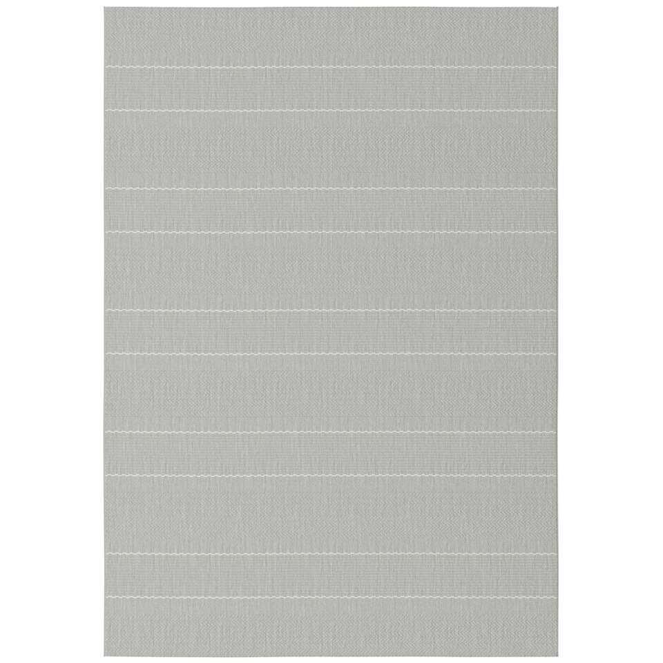 Vloerkleed Kimbiri - grijs - 160x230 cm