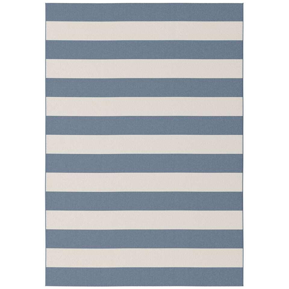 Vloerkleed Madia - blauw - 160x230 cm