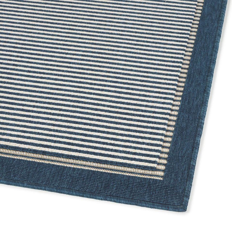 Vloerkleed Azzano - blauw - 160x230 cm