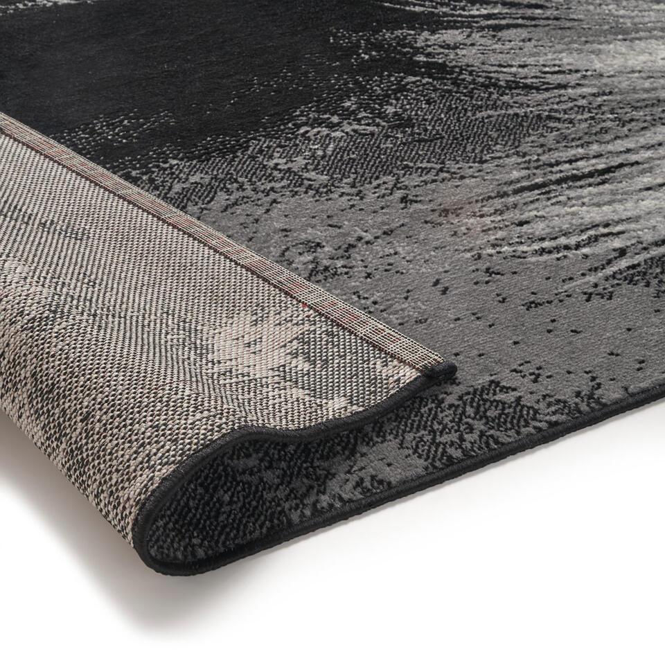 Vloerkleed Paard – zwart – 120×170 cm – Leen Bakker