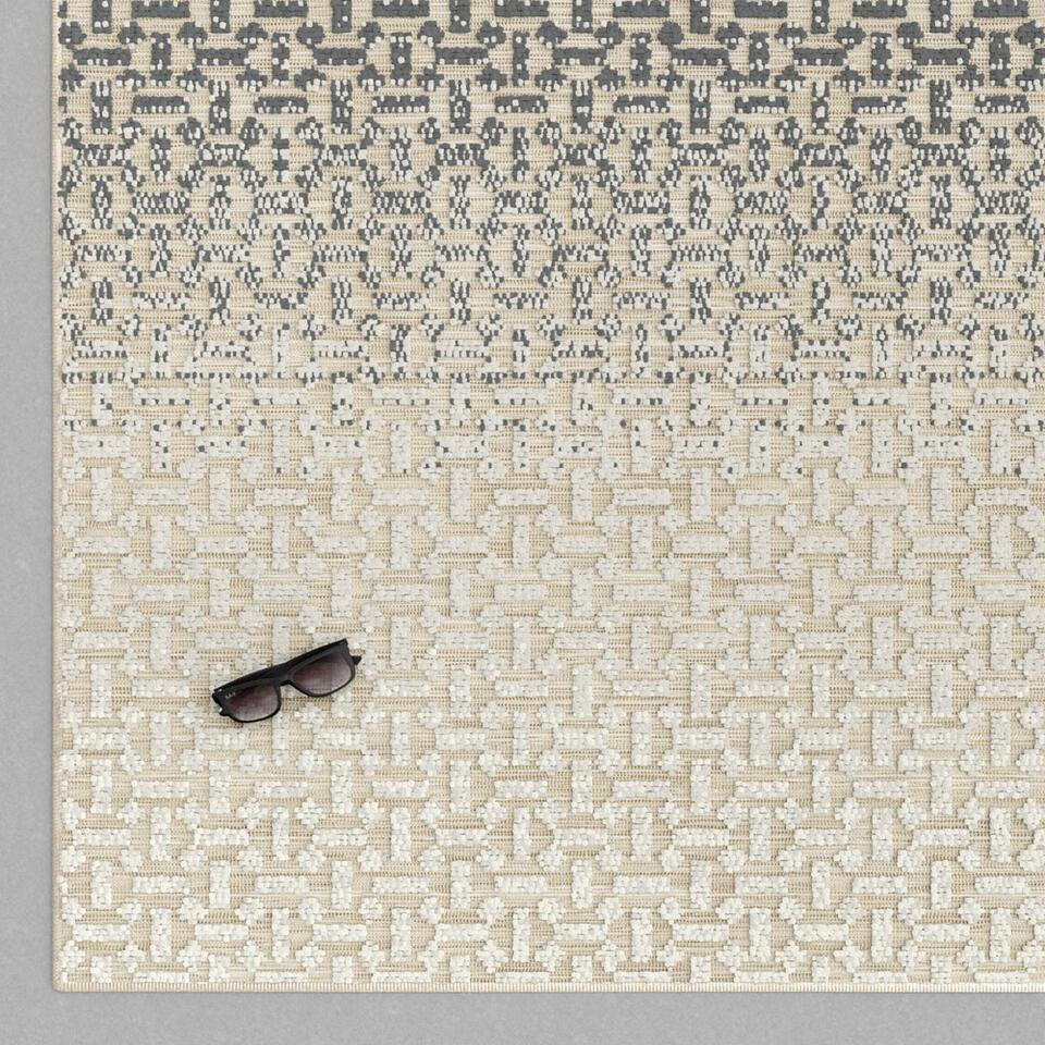 Vloerkleed Lavello - grijs - 120x170 cm