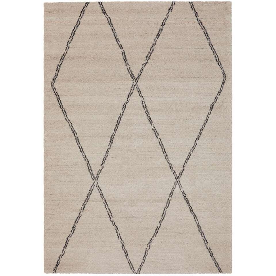 Vloerkleed Noma - beige - 160x230 cm