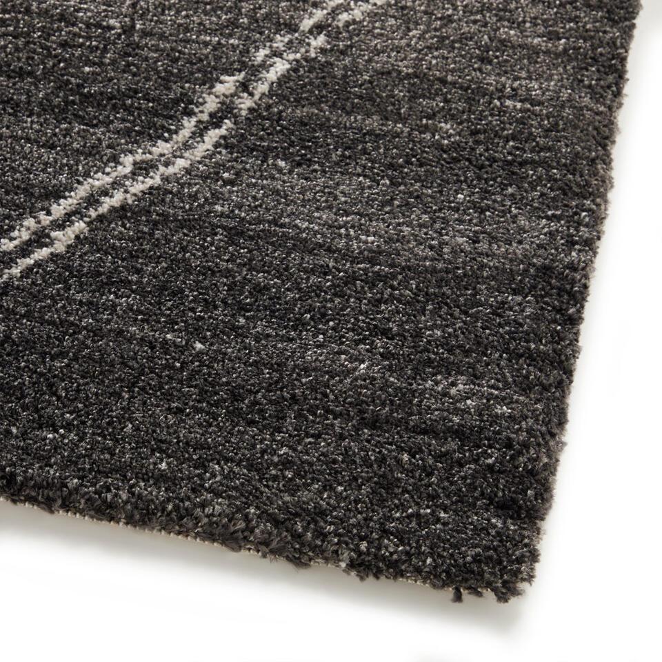 Vloerkleed Noma - zwart - 160x230 cm