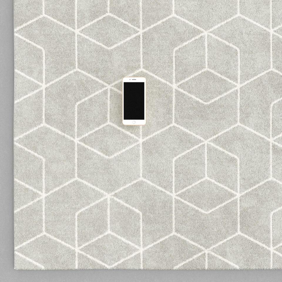 Vloerkleed Nonza – beige – 160×230 cm – Leen Bakker