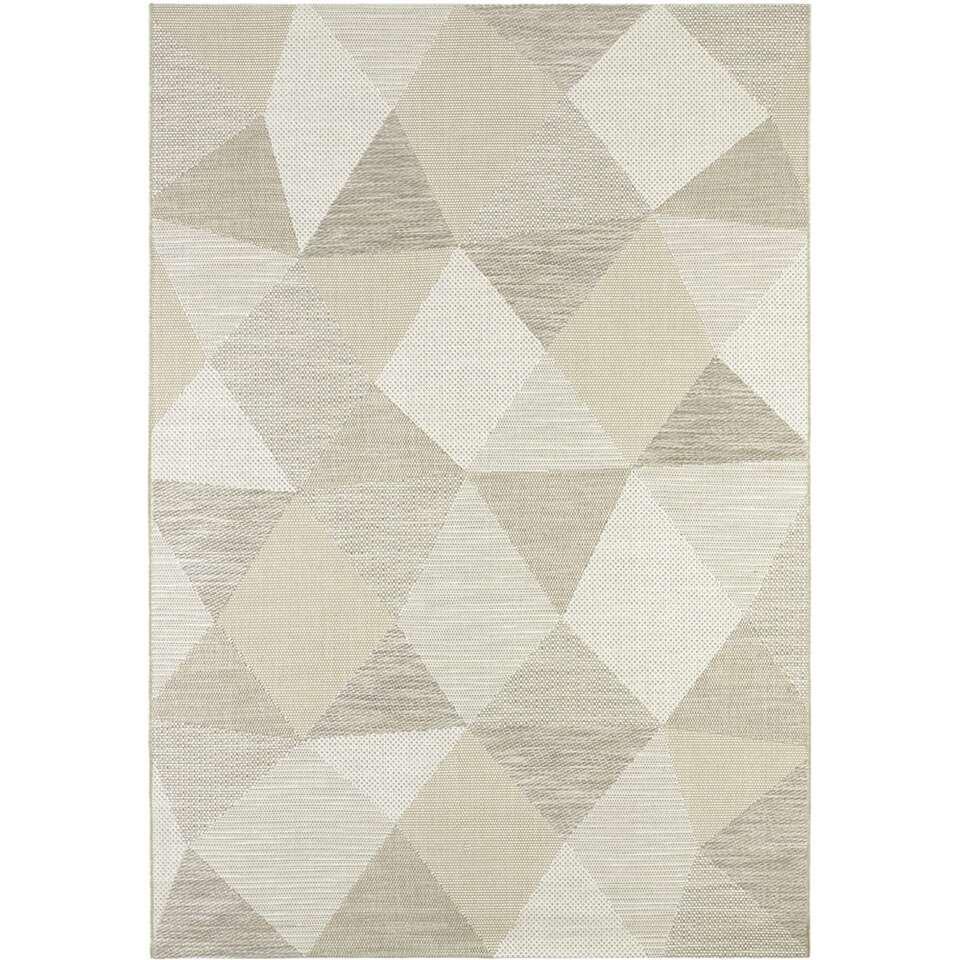 Vloerkleed Tarma - beige - 160x230 cm