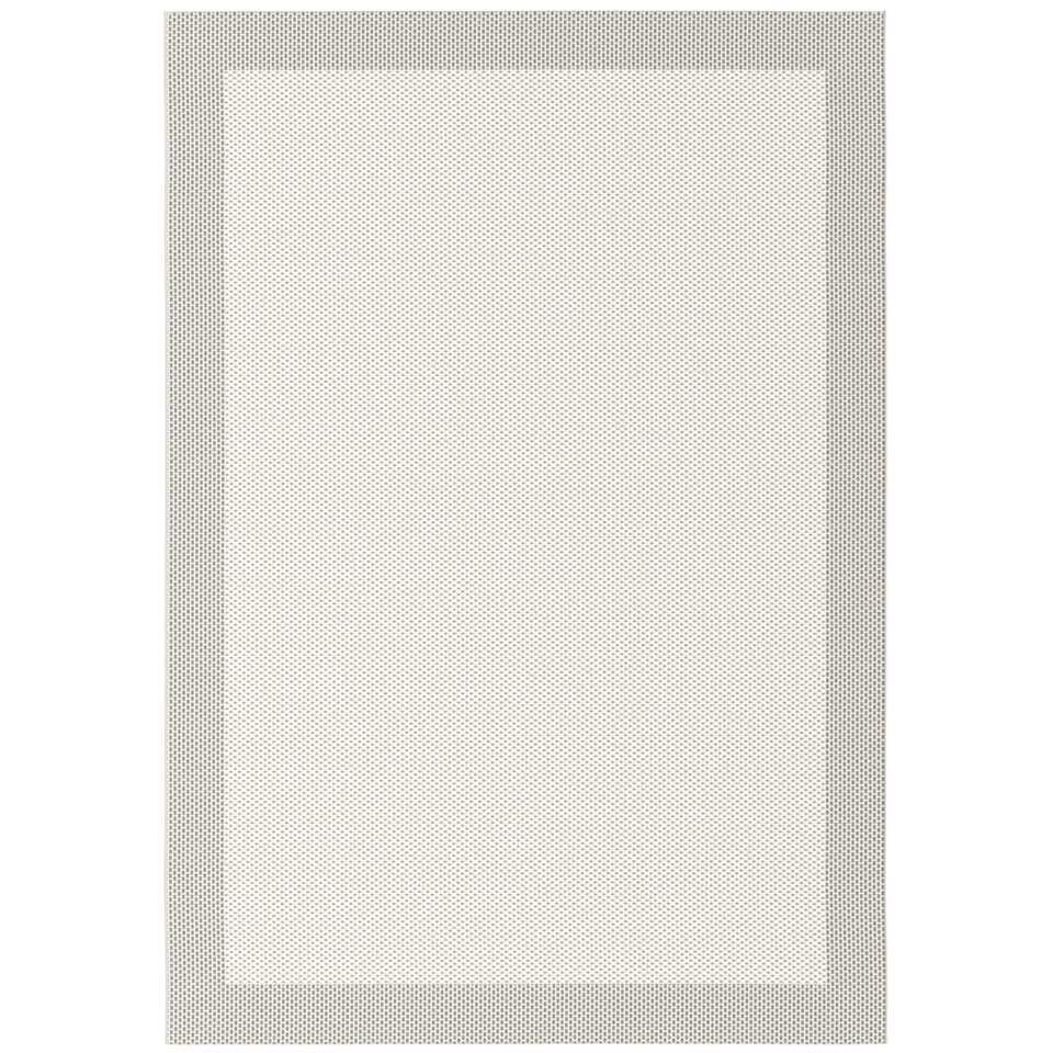 Vloerkleed Werda - crème - 160x230 cm - Leen Bakker