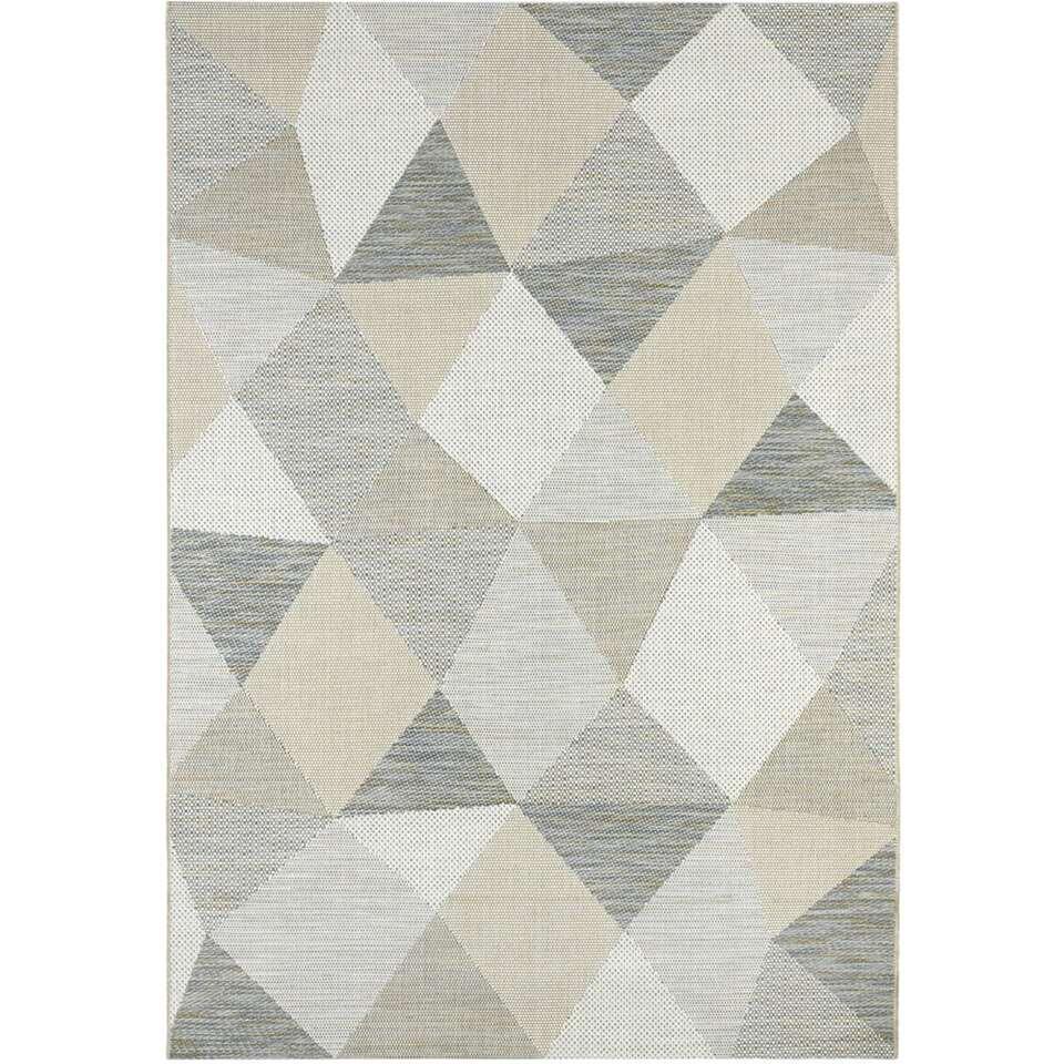 Vloerkleed Tarma - grijs - 160x230 cm