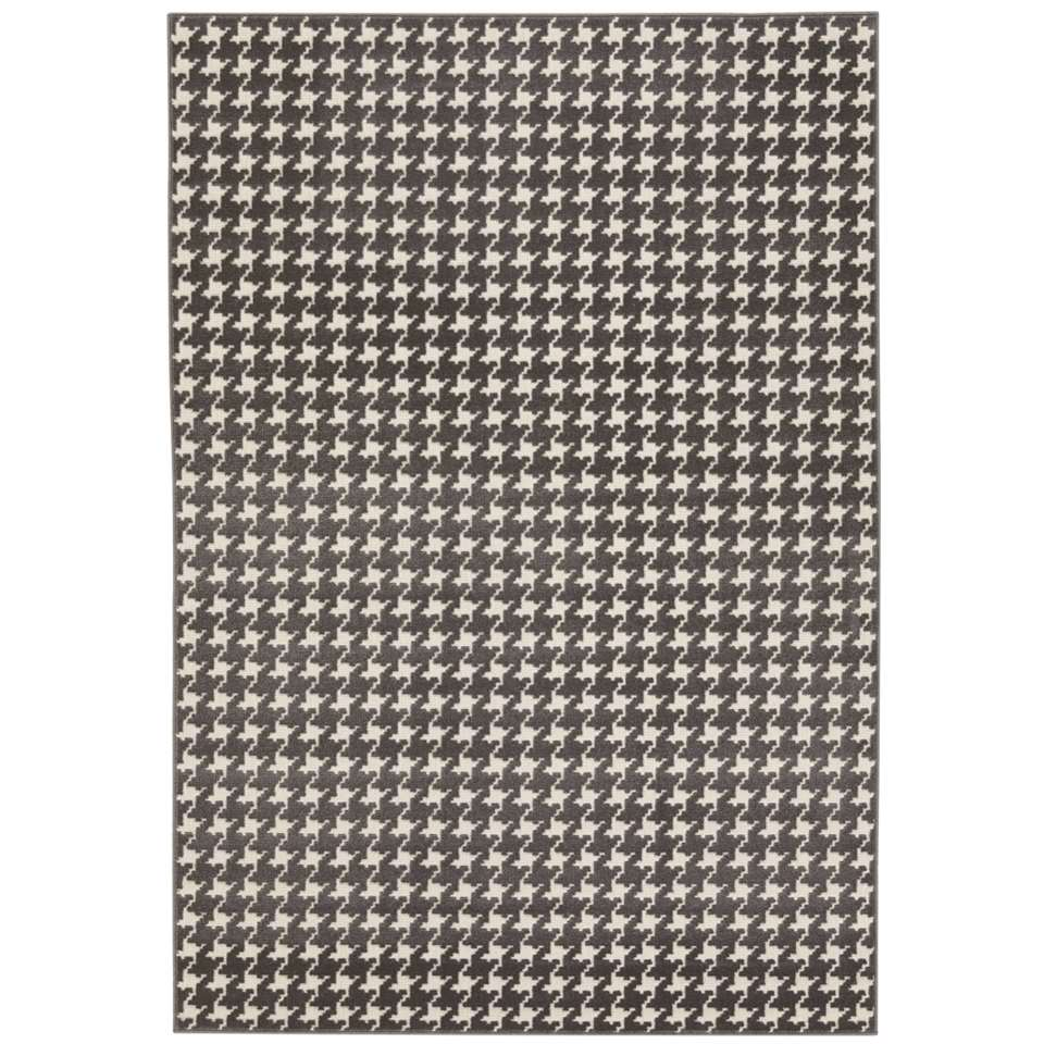 Vloerkleed Tolwe - grijs - 120x170 cm