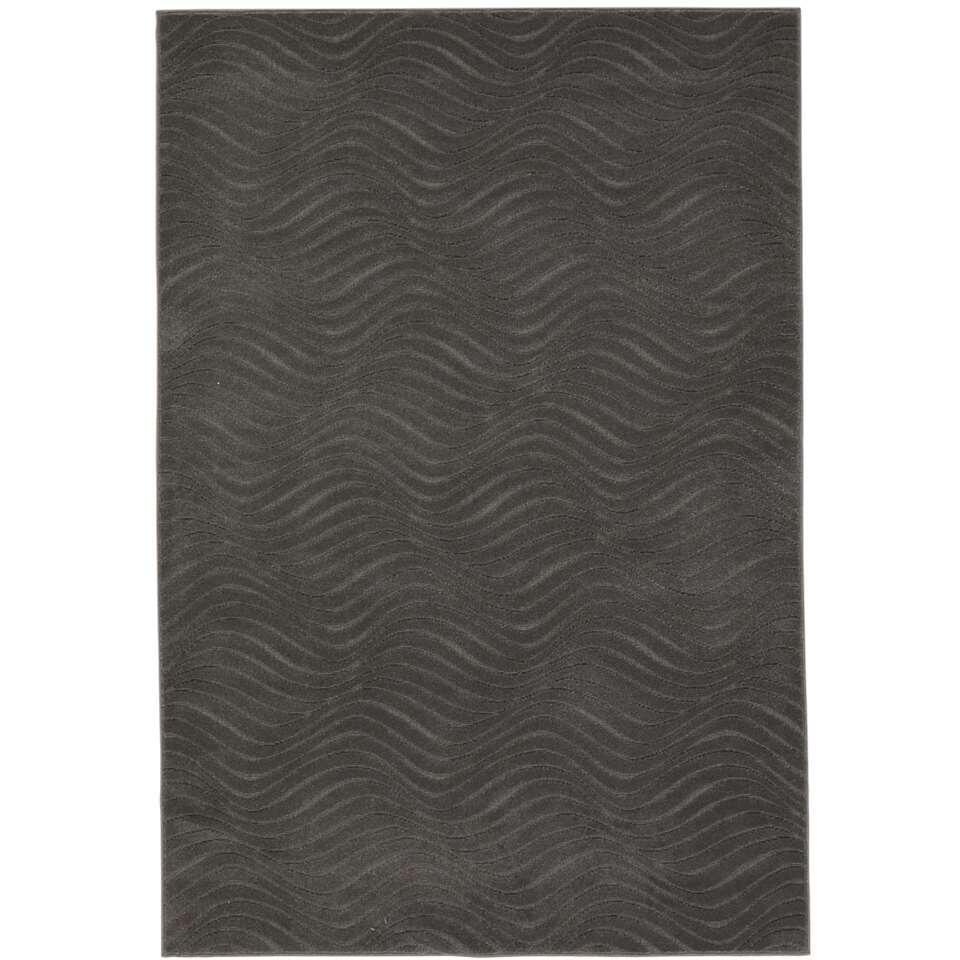 Vloerkleed Ugie - grijs - 120x170 cm