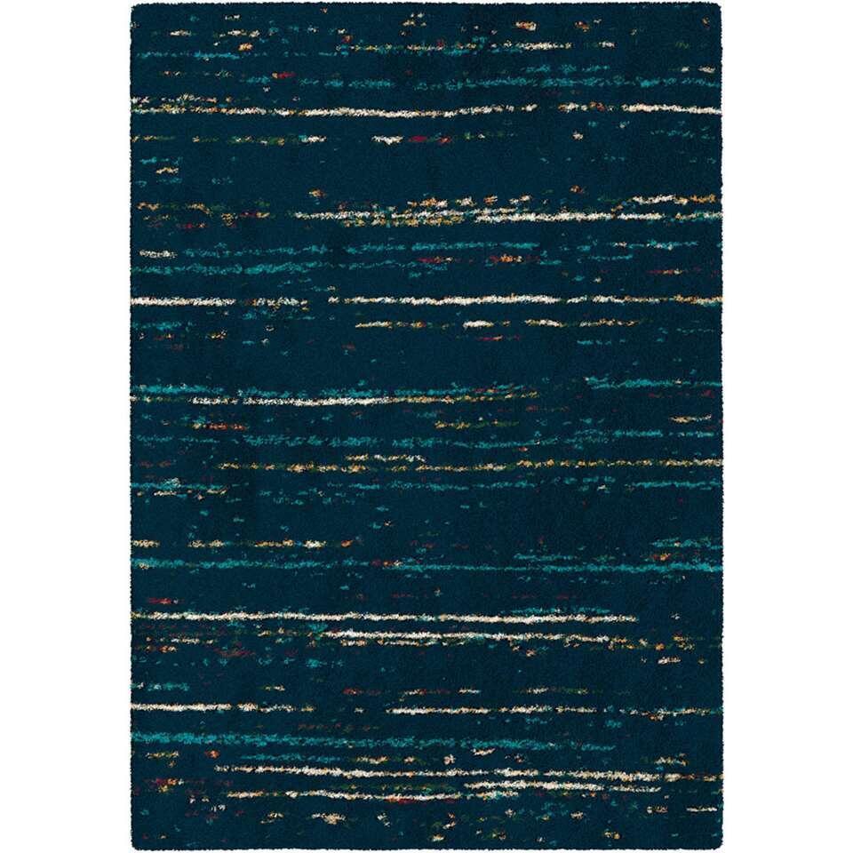 Vloerkleed Piura - blauw - 200x290 cm